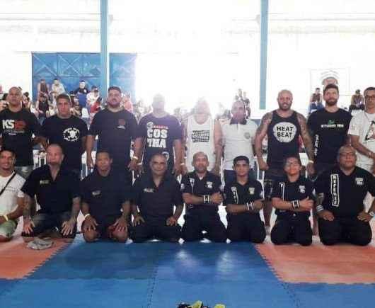 Produtos arrecadados no Circuito Litoral Paulista de Jiu-Jítsu são entregues ao Fundo Social de Caraguatatuba