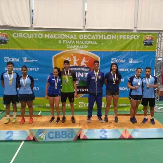 Badminton de Caraguatatuba conquista resultado inédito no Circuito Nacional Decathon Perfly