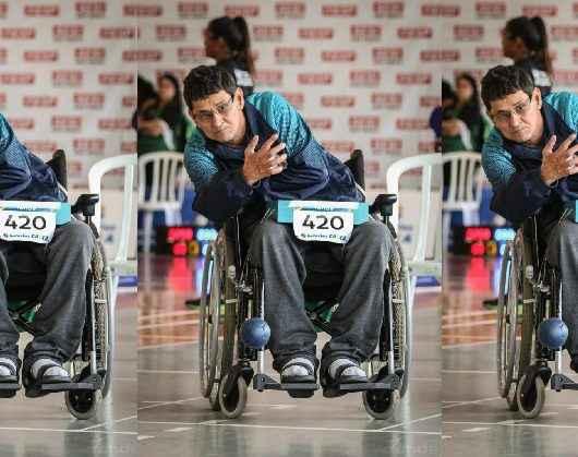 Atleta com deficiência classifica para Campeonato Regional Sudeste de Bocha Adaptada