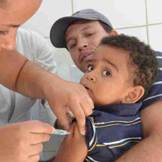 Já vacinou seu filho? Campanha contra poliomielite se encerra nesta sexta-feira (13)