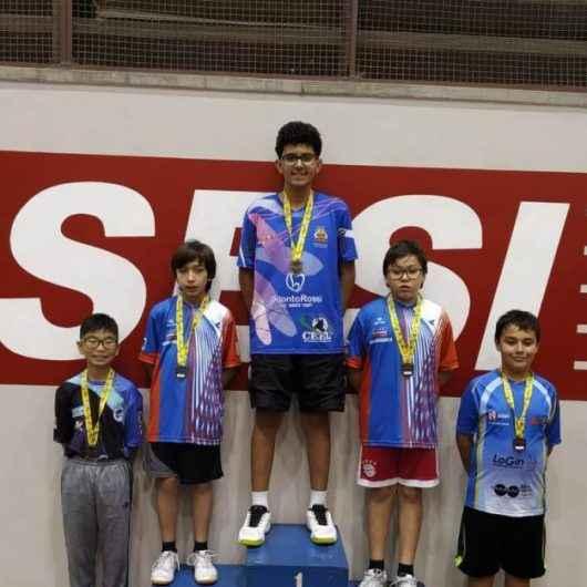 Equipe de Caraguatatuba conquista pódio na 4º Etapa da Liga Valeparaibana de Tênis