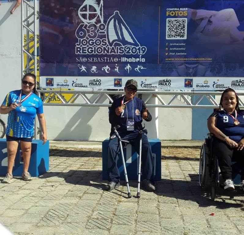 Paratletas de Caraguatatuba brilham nos 63º Jogos Regionais e conquistam 80 medalhas