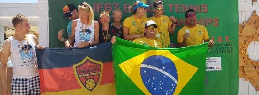 Caraguatatuba é representada na Espanha em Campeonato Mundial de Beach Tennis