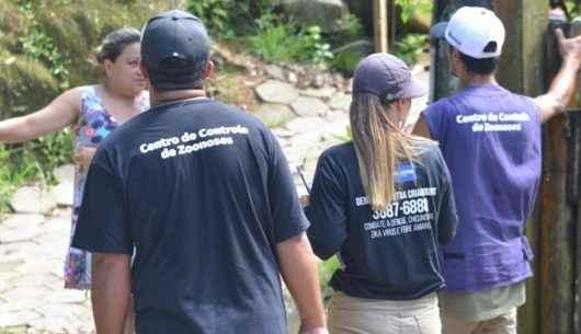 Agentes do CCZ percorrem ruas do Massaguaçu no combate à dengue