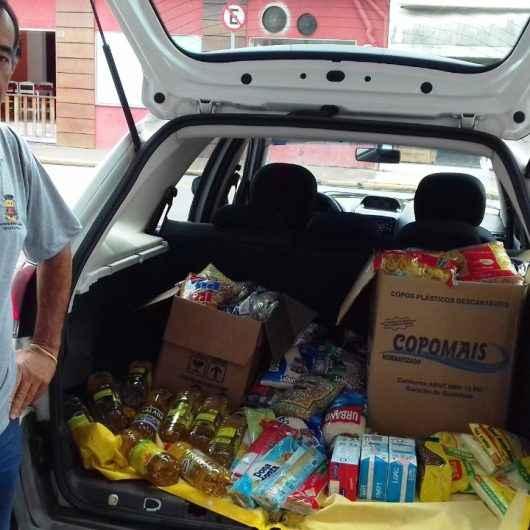 Fundo Social de Caraguatatuba recebe 500 kg de alimentos provenientes do Circuito Corrida de Rua