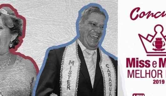 """Convites do concurso """"Miss e Mister Melhor Idade 2019"""" estão esgotados"""