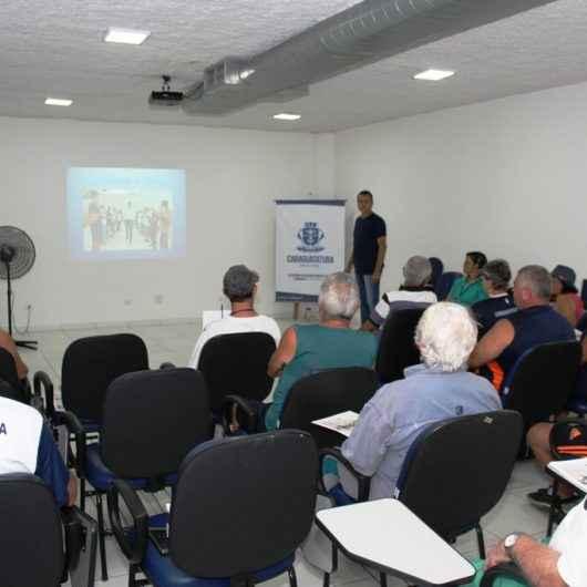 Idosos e pessoas com deficiência participam de Curso de Arbitragem de Bocha Sentada