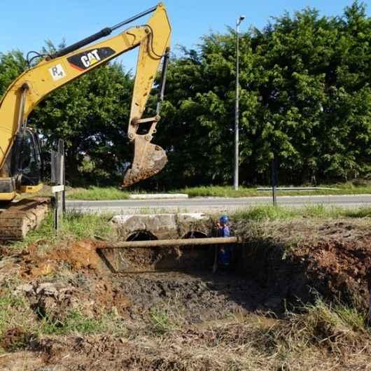 Prefeitura interdita SP-55 na região do Jetuba a partir de segunda (14/10) para obras contra enchente