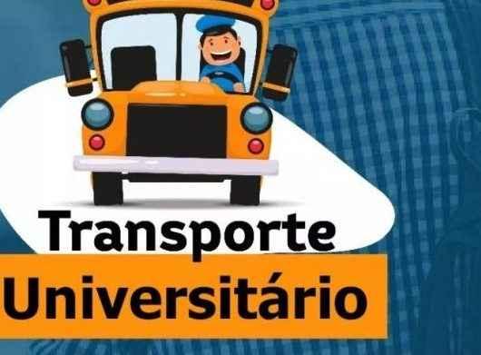Recadastramento de alunos do transporte universitário começa dia 1º de julho