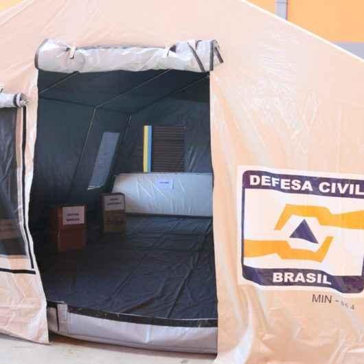 Defesa Civil do Estado entrega Depósito de Ajuda Humanitária em Caraguatatuba