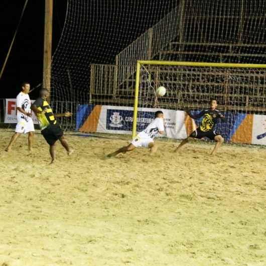 Torneio de Beach Soccer tem disputas acirradas na Arena Verão Esportiva 2020