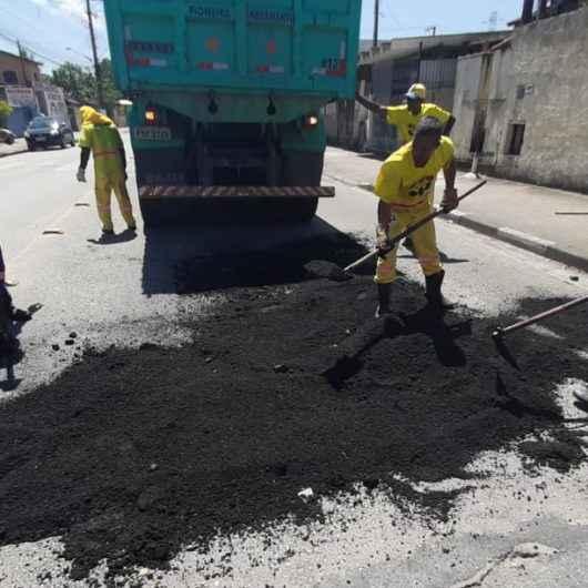 Operação Tapa-buracos já realizou serviços em nove bairros