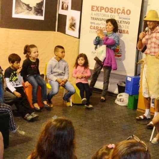 Secretaria de Turismo de Caraguatatuba recebe Contação de Histórias com Nhá Rita e Leco Borba