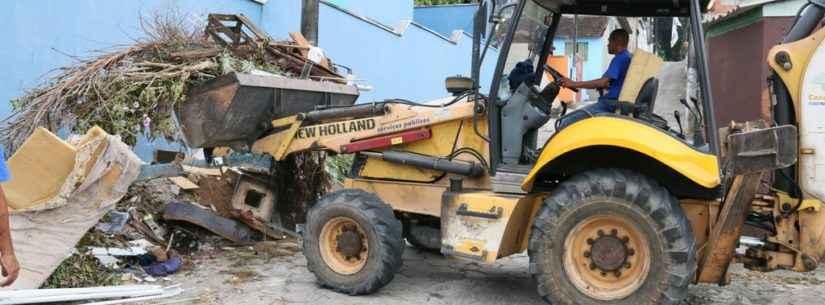 Minha Família sem Dengue: Prefeitura retira dois caminhões de resíduos do Sumaré em Operação Cata-Treco