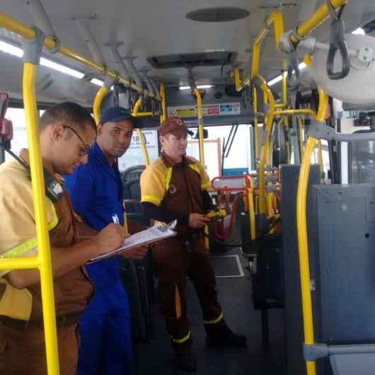 Prefeitura de Caraguatatuba realiza vistoria anual nos ônibus da Praiamar