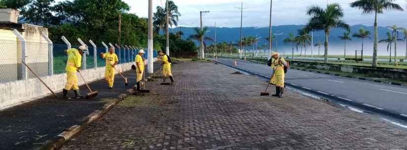 Prefeitura realiza diversos serviços de manutenção nos bairros