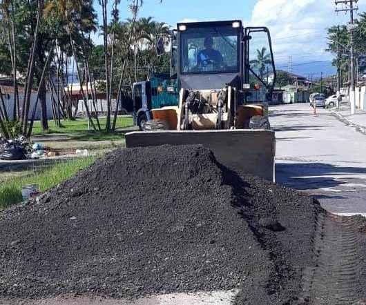 Jardim Jaqueira recebe nivelamento com fresado de asfalto