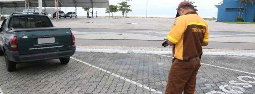 Covid-19: Estacionamentos próximos às praias estão proibidos em Caraguatatuba
