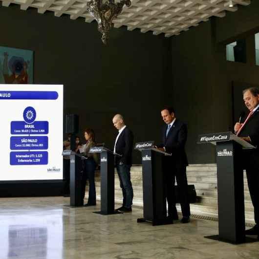 Decreto Estadual de isolamento e fechamento de comércios será prorrogado até 10 de maio