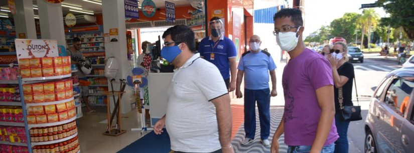 Decreto torna obrigatório o uso de máscaras nos estabelecimentos de Caraguatatuba