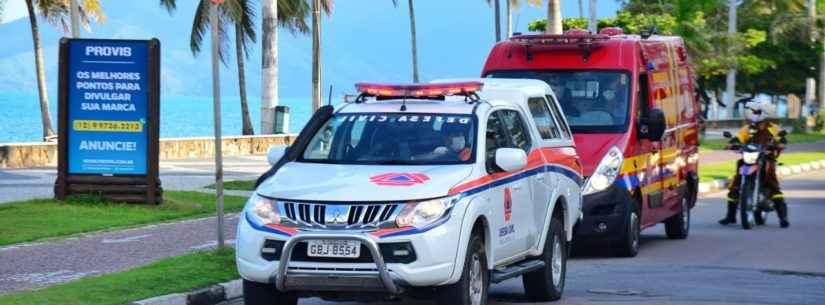 Defesa Civil e Bombeiros orientam banhistas a não ficarem nas praias