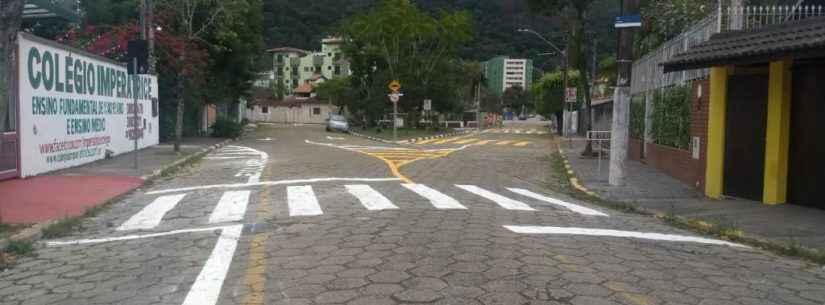 Prefeitura reforça sinalização em ruas da região central da cidade