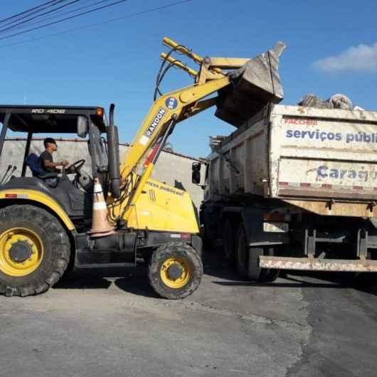 Prefeitura recolhe 200 toneladas de lixo em Operação Bota-fora no final de semana