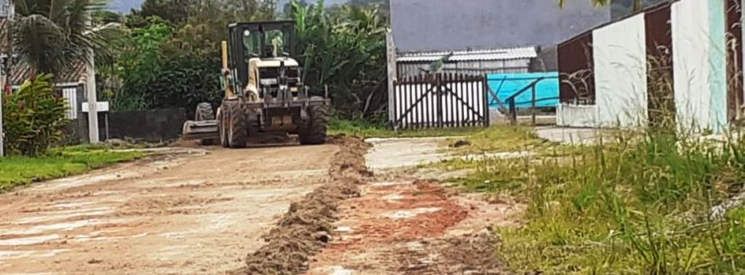 Força tarefa da Sesep chega aos bairros de Caraguatatuba