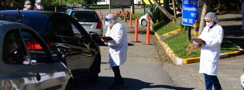 Barreira Sanitária em Caraguatatuba aborda mais de 1 mil veículos no super feriado