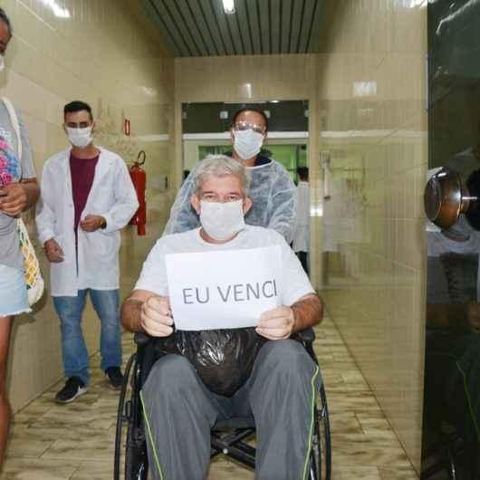 Caraguatatuba comemora mais um paciente recuperado da Covid-19