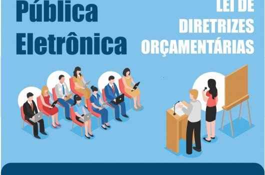 Moradores têm até segunda-feira para participar da audiência pública eletrônica da LDO 2021 de Caraguatatuba