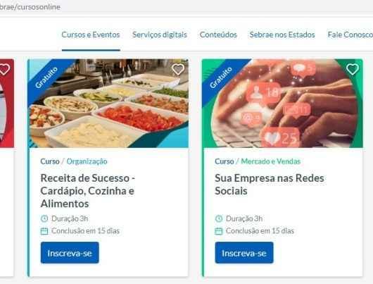 Sebrae oferece mais de 120 cursos gratuitos online sobre empreendedorismo