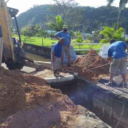 Sesep inicia obra para conter erosão na Avenida da Praia