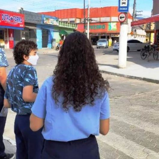 Força tarefa de conscientização já abordou 800 pessoas nas ruas e 130 comércios de diversos bairros da cidade