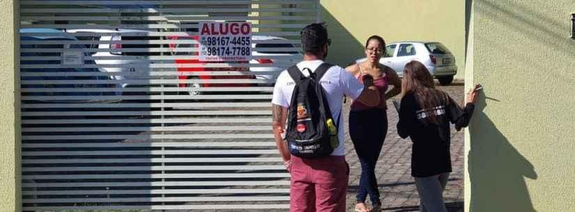 Equipe técnica da Zoonoses percorre bairro Massaguaçu para orientar moradores no combate à dengue