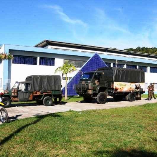Exército Brasileiro auxiliará na higienização de ruas e espaços públicos de Caraguatatuba