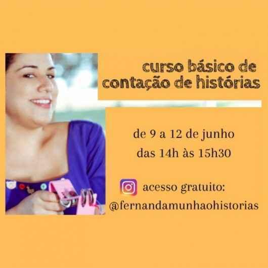 Governo do Estado de São Paulo oferece lives de curso básico de Contação de Histórias