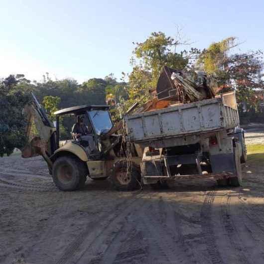 Prefeitura realiza varrição e Operação Bota-fora na Mococa