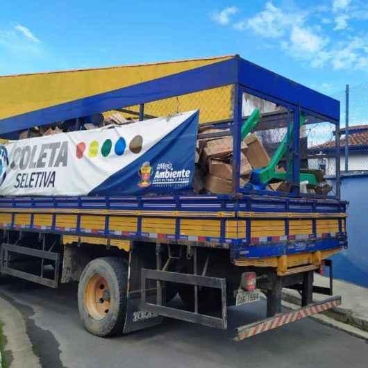 Coleta Seletiva e Ecoponto reaproveitam 120 toneladas de material por mês em Caraguatatuba
