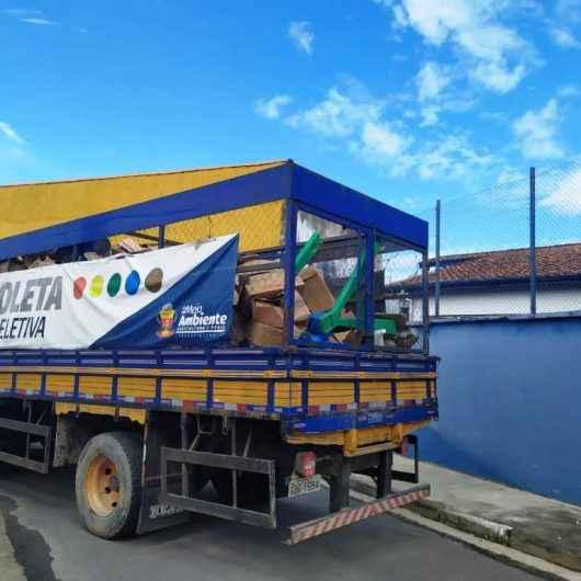 Caraguatatuba aumenta em 600% reaproveitamento de materiais durante os três últimos anos