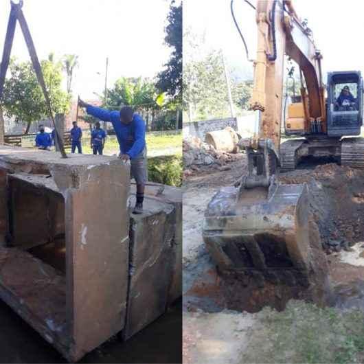 Pegorelli recebe serviço para melhorar escoamento de águas nas chuvas