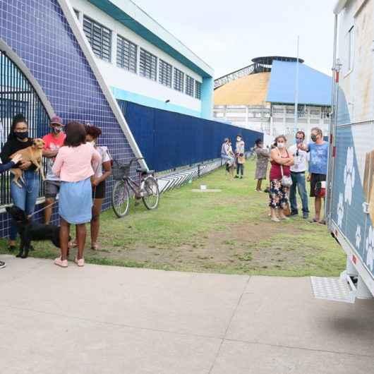 Prefeitura de Caraguatatuba leva Zoomóvel ao Jardim Tarumãs e realiza 28 atendimentos