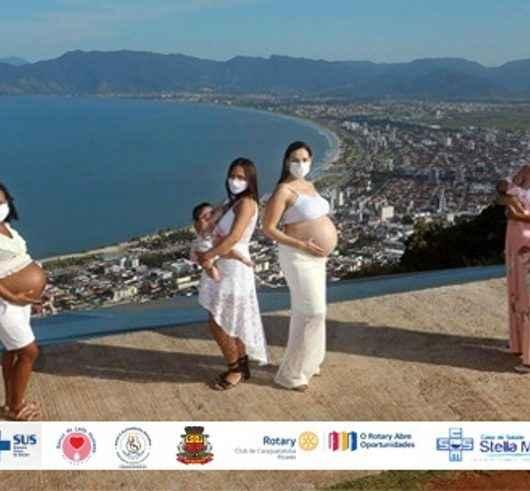 Ceami de Caraguatatuba lança concurso de fotografia para celebrar a Semana do Aleitamento Materno