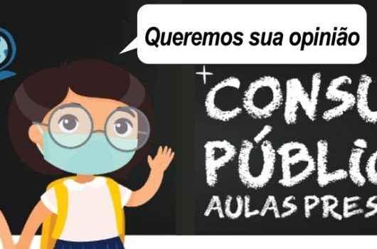 Prefeitura de Caraguatatuba abre Consulta Pública sobre as aulas presenciais