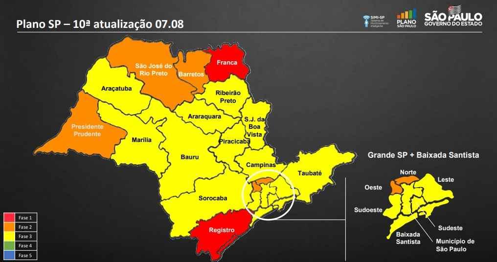 Caraguatatuba avança para Fase Amarela da retomada gradativa e segura da economia