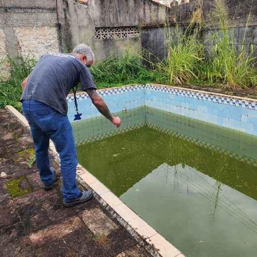 Sem casos positivos há três semanas, CCZ continua com ações contra dengue em Caraguatatuba