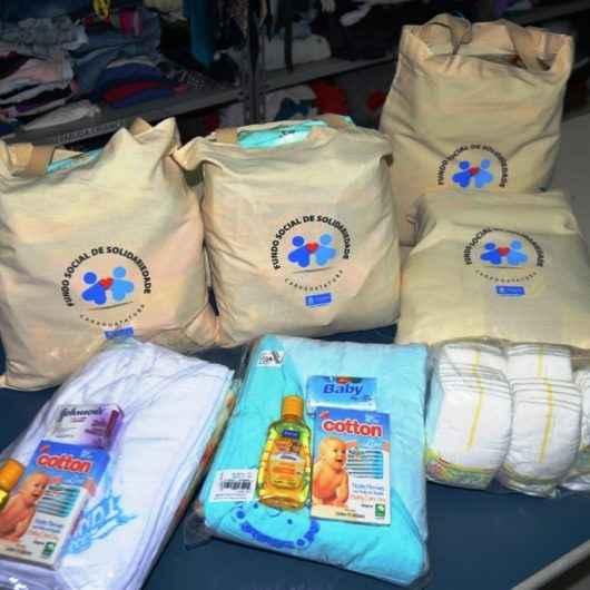 Fundo Social de Caraguatatuba já atendeu 350 gestantes com kit enxoval e projeto continua mesmo na pandemia