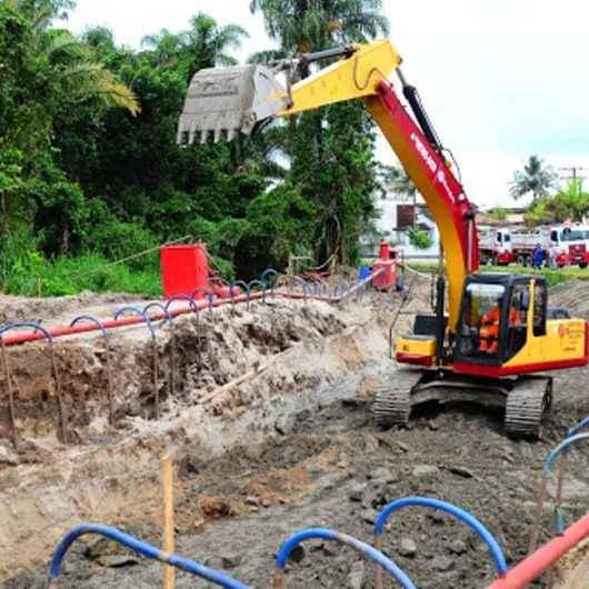 Prefeitura executa obras contra enchente na região do Britânia/Santamarina