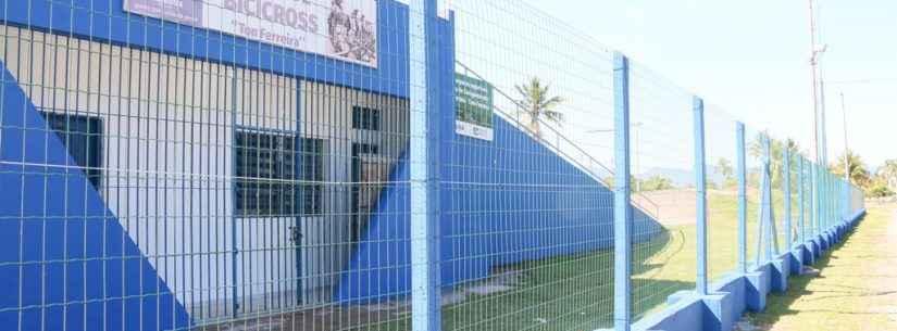 Prefeitura de Caraguatatuba revitaliza pista de bicicross e de skate