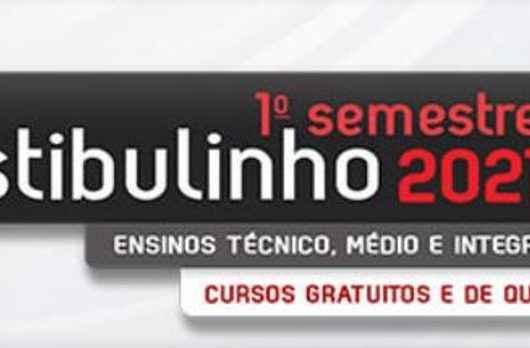 Inscrições do vestibulinho 2021 da ETEC de Caraguatatuba se encerram na segunda-feira (14)